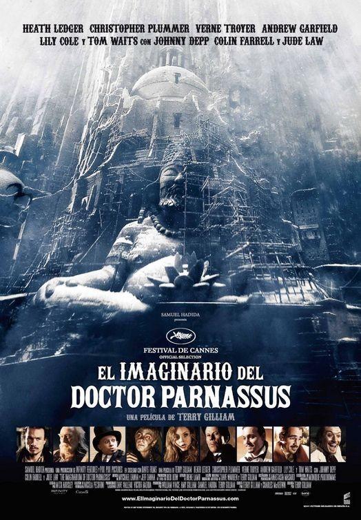 La locandina spagnola di Parnassus - L'uomo che voleva ingannare il diavolo