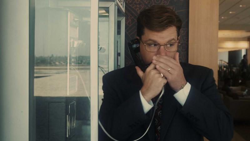 Matt Damon in un'immagine del film The Informant! di Steven Sordebergh