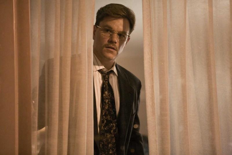 Matt Damon in un'immagine di The Informant!