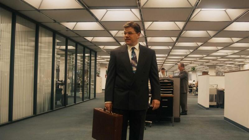 Matt Damon in una scena del film The Informant! di Steven Sordebergh