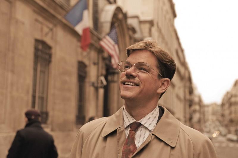 Matt Damon in una scena del film The Informant! diretto da Steven Sorderbergh