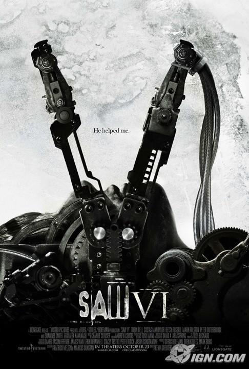 Nuova locandina di Saw VI