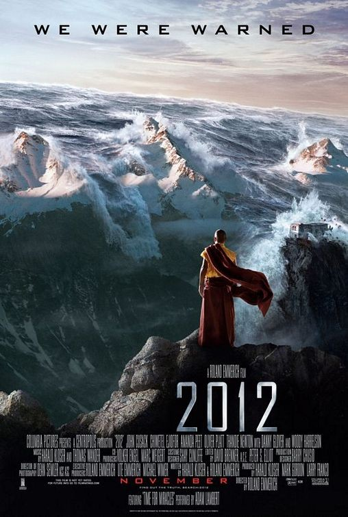 Poster internazionale n. 5 (Tibet) per il disaster movie 2012
