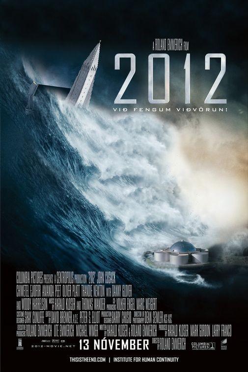 Poster internazionale n. 6 (Islanda) per il disaster movie 2012