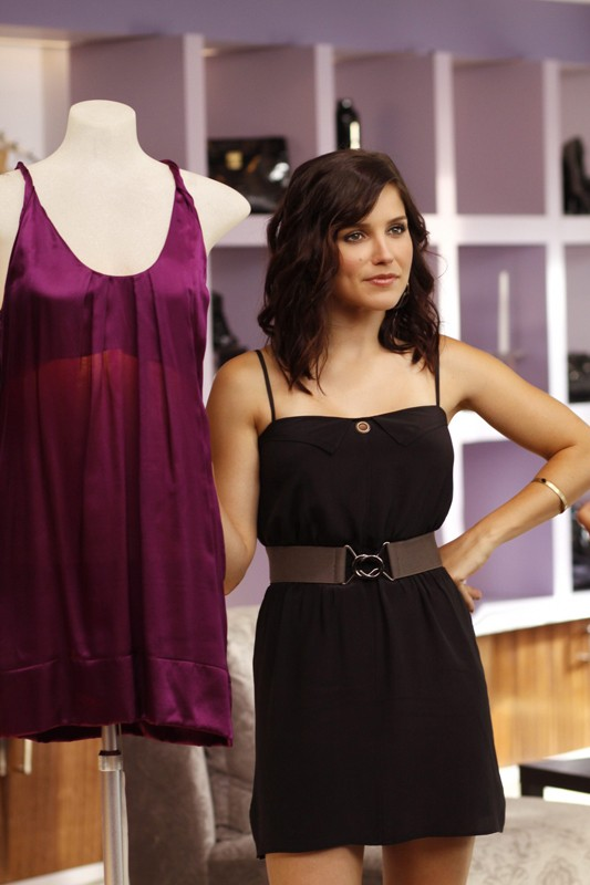 Sophia Bush è Brooke Davis in una scena dell'episodio What Are You Willing to Lose stagione 7 di One Tree Hill