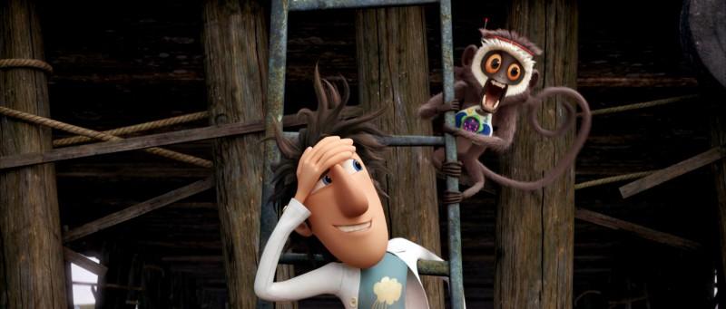 Un'immagine del film d'animazione Piovono polpette