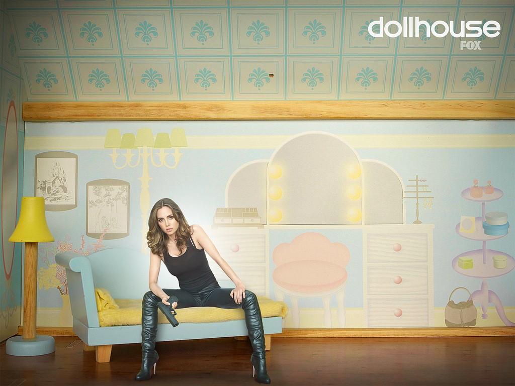 Uno dei wallpaper della seconda stagione di Dollhouse