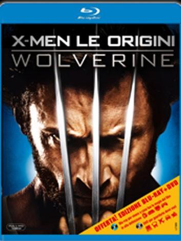 La copertina di X-Men - Le origini: Wolverine (blu-ray)