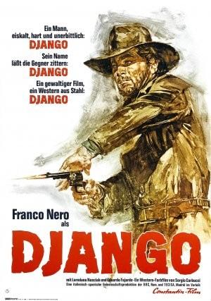 La locandina di Django
