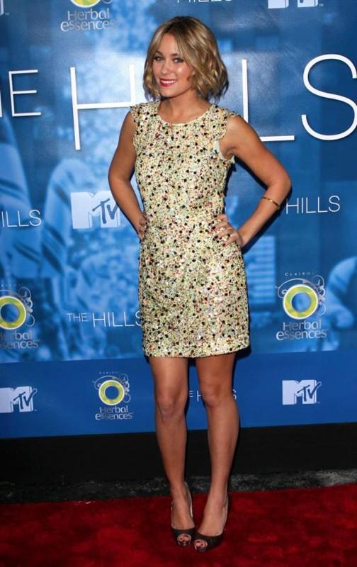 Lauren Conrad al The Hills Season 4 Finale Party, a New York, nel Dicembre 2008