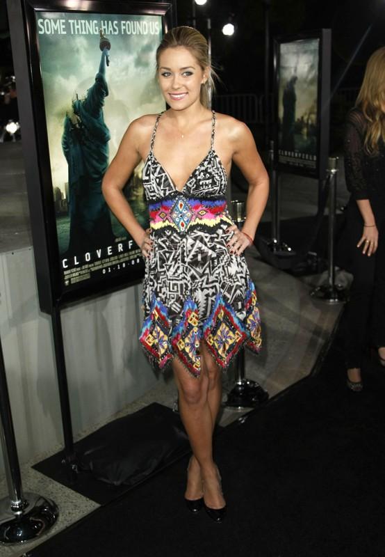 Lauren Conrad alla premiere di Cloverfield