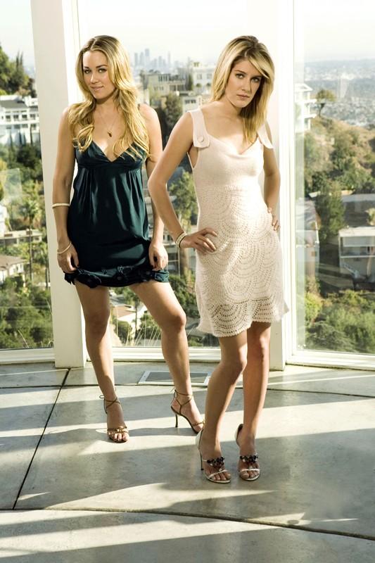 Lauren Conrad e Heidi Montag per la seconda stagione di The Hills