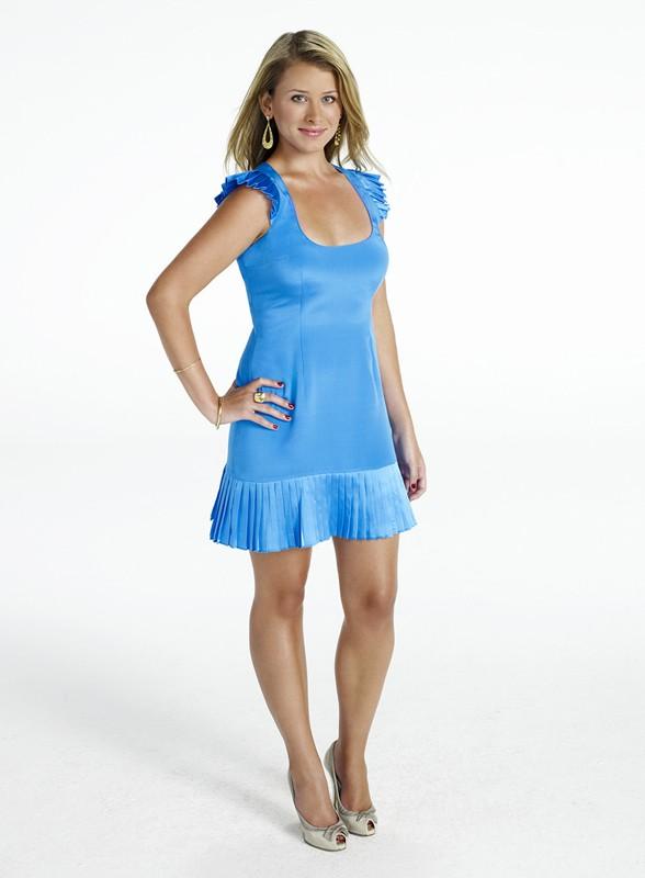 Lauren (Lo) Bosworth in una foto promo per la stagione 4 di The Hills
