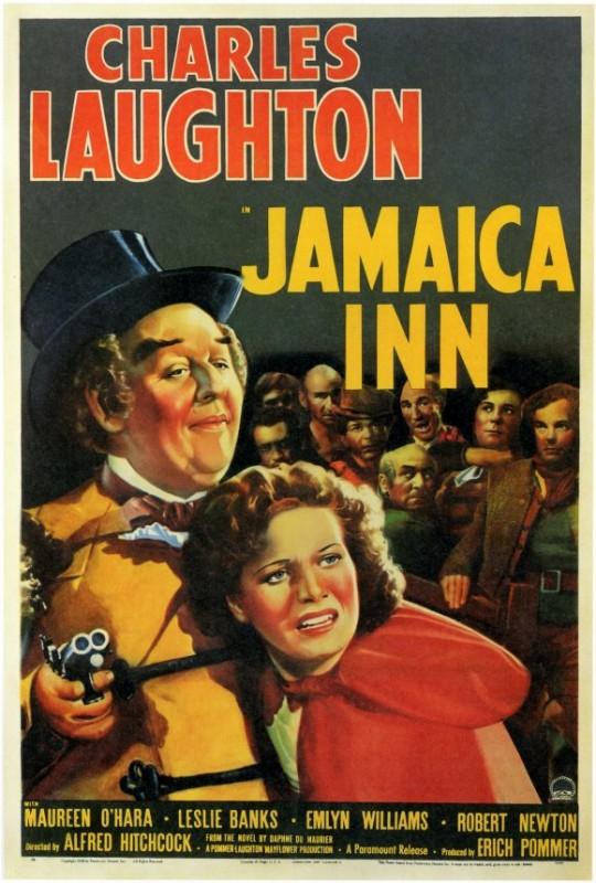 Locandina del film La taverna della Giamaica (1939)