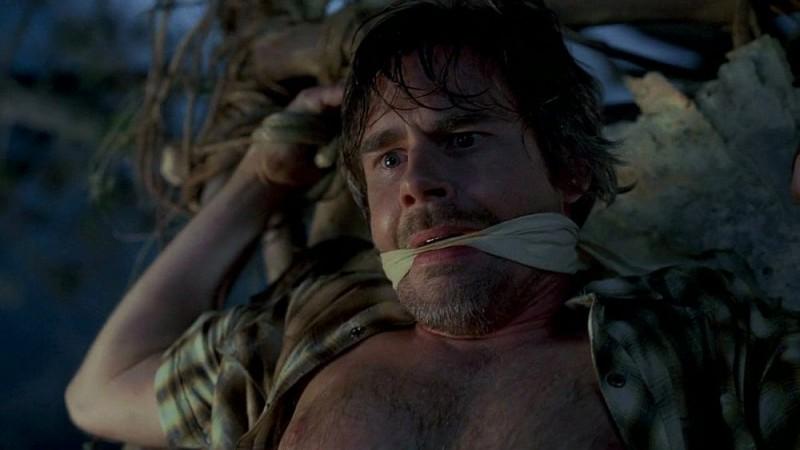 Sam Trammell in un'immagine dell'episodio 'Beyond Here Lies Nothin'' della serie tv True Blood