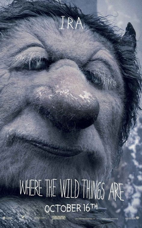 Character Poster 5 (Ira) per Where the Wild Things Are