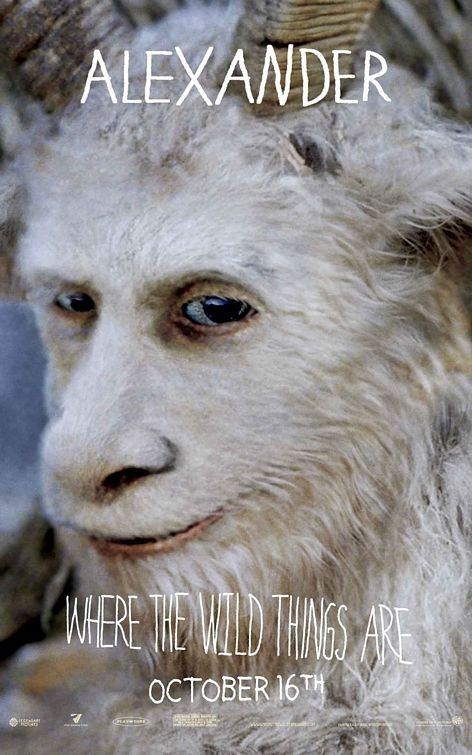 Character Poster 8 (Alexander) per Where the Wild Things Are