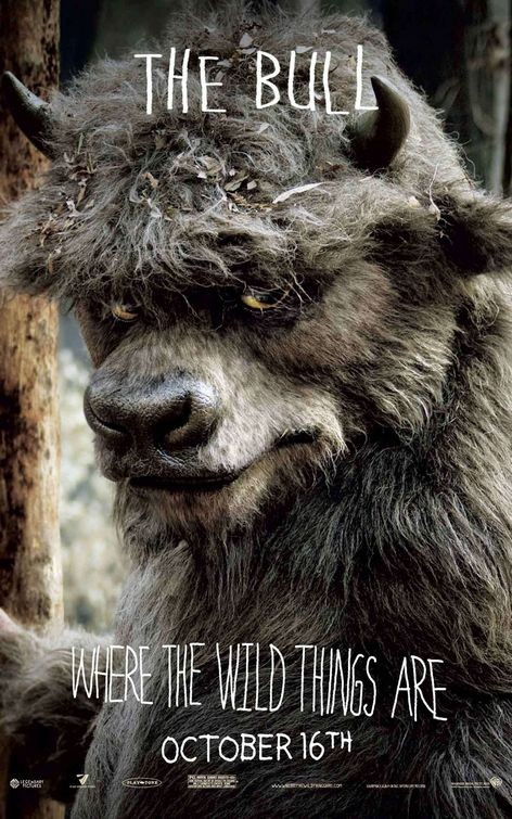 Character Poster 9 (The Bull) per Where the Wild Things Are