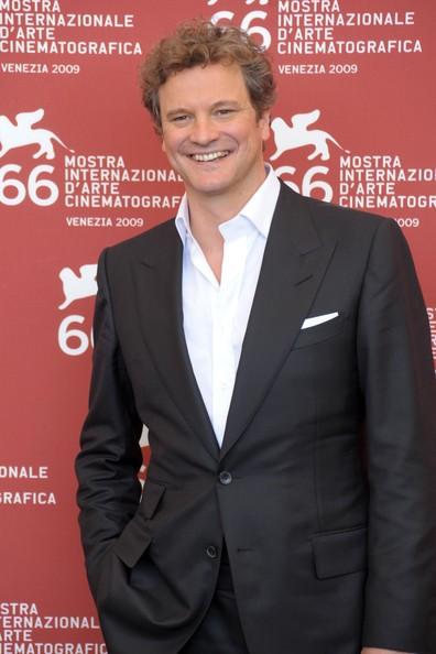 Colin Firth all\'arrivo alla 66 mostra del cinema di Venezia venerdì 11 settembre 2009
