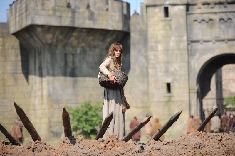 Kasia Smutniak in un'immagine del film Barbarossa