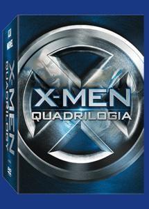La copertina di X-Men - La quadrilogia (dvd)