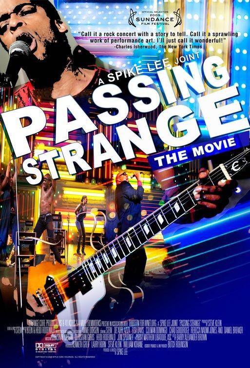 La locandina di Passing Strange