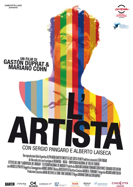 Locandina italiana del film L'artista.