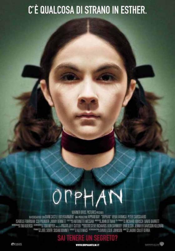 Locandina italiana per Orphan