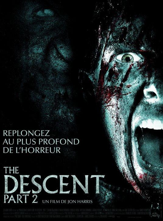 Poster francese per The Descent 2