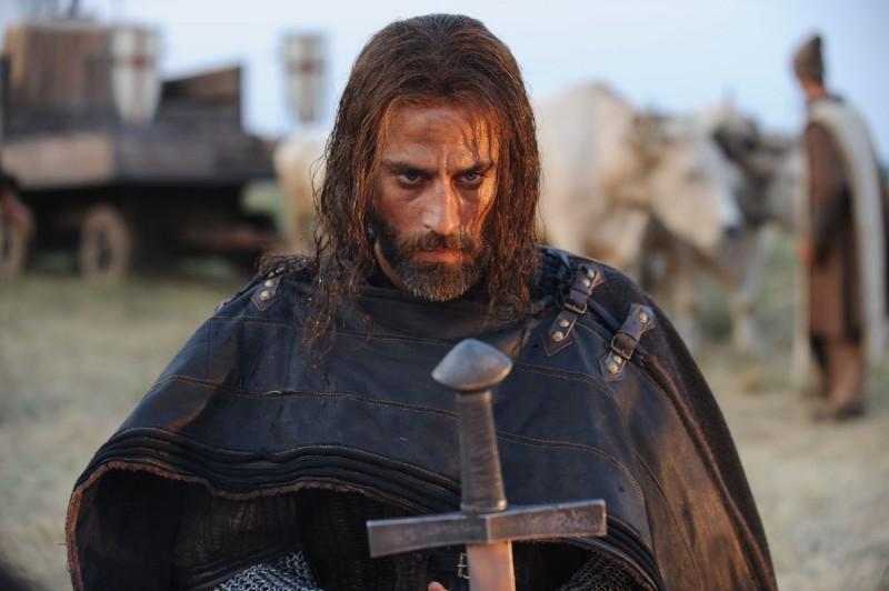 Raz Degan in un'immagine del film Barbarossa