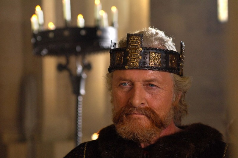 Rutger Hauer in un'immagine del film Barbarossa