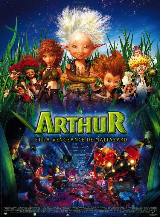 Secondo poster internazionale per Arthur and the Vengeance of Maltazard