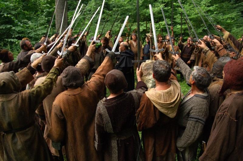Un'immagine del film Barbarossa di Renzo Martinelli