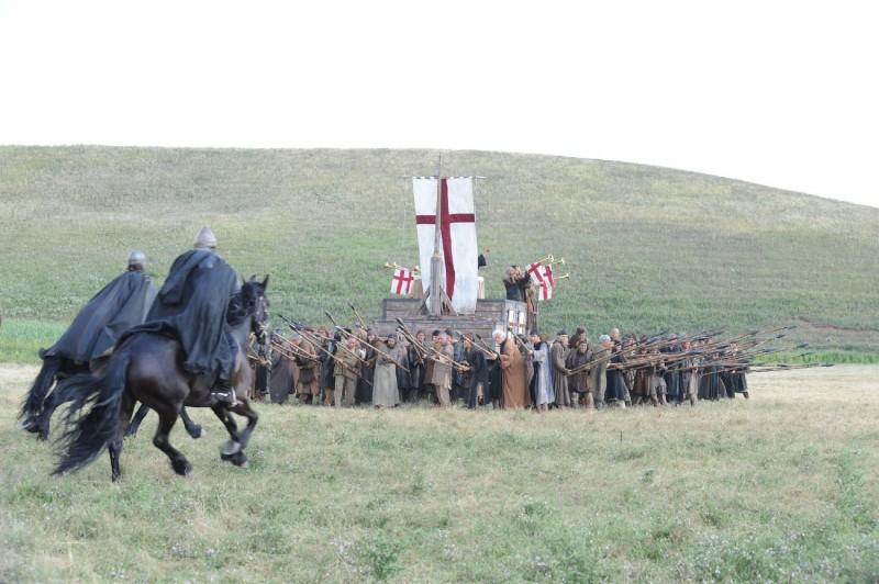 Un'immagine tratta dal film Barbarossa diretto da Renzo Martinelli