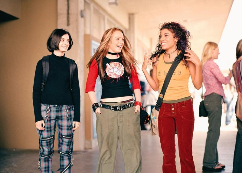 Haley Hudson, Lindsay Lohan e Christina Vidal in una scena del film Freaky Friday