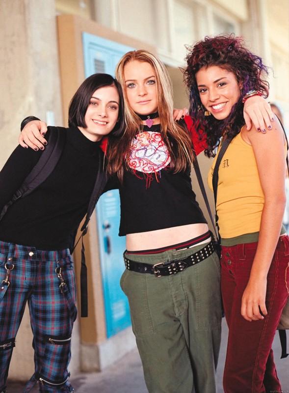 Haley Hudson, Lindsay Lohan e Christina Vidal nel film Quel pazzo venerdì