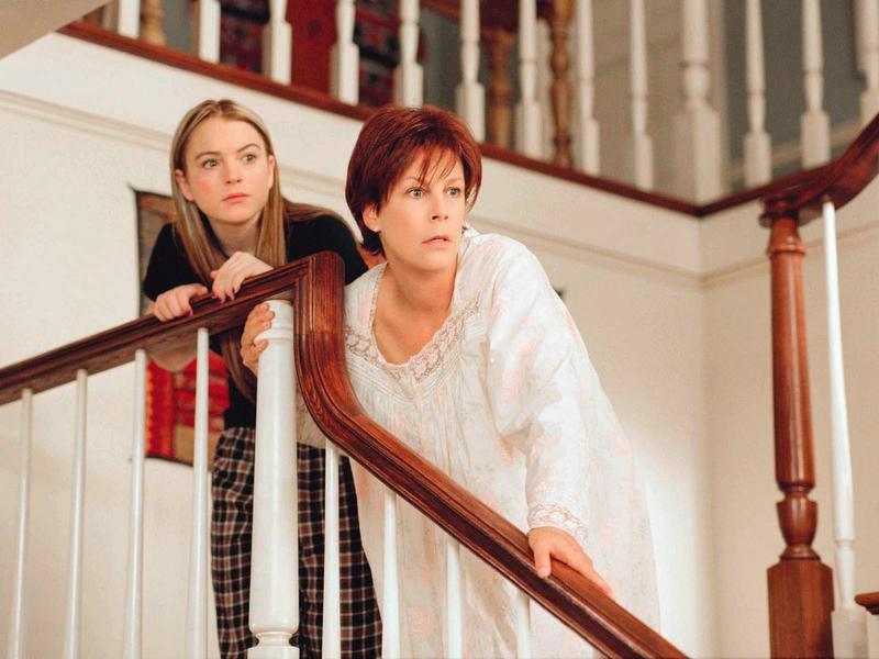 Jamie Lee Curtis e Lindsay Lohan sono madre e figlia in una scena del film Freaky Friday