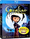 La copertina di Coraline e la Porta Magica (3D) (blu-ray)