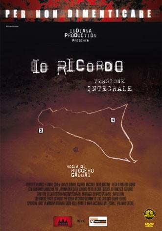 La copertina di Io ricordo (dvd)