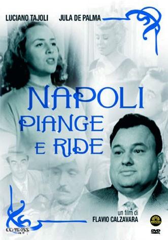 La copertina di Napoli piange e ride (dvd)