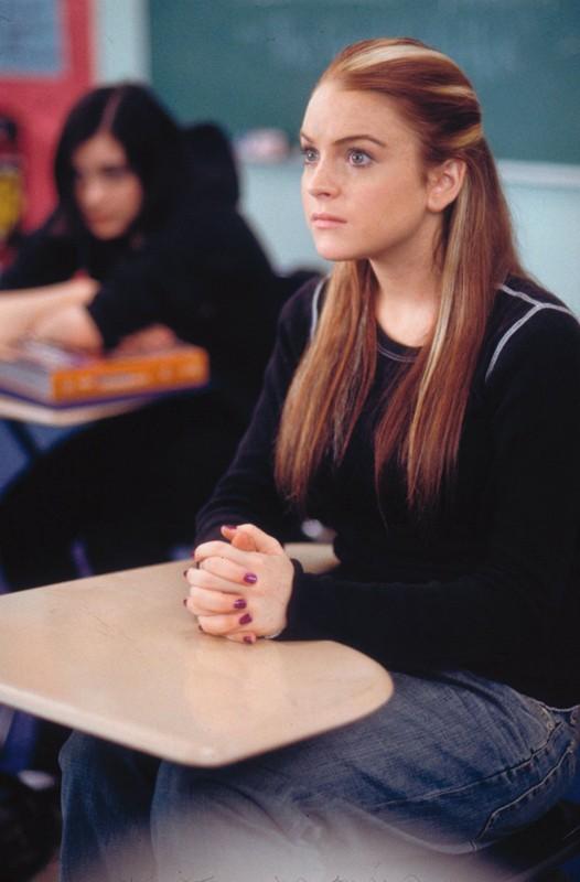 Lindsay Lohan è Annabell a scuola nel film Quel pazzo venerdì