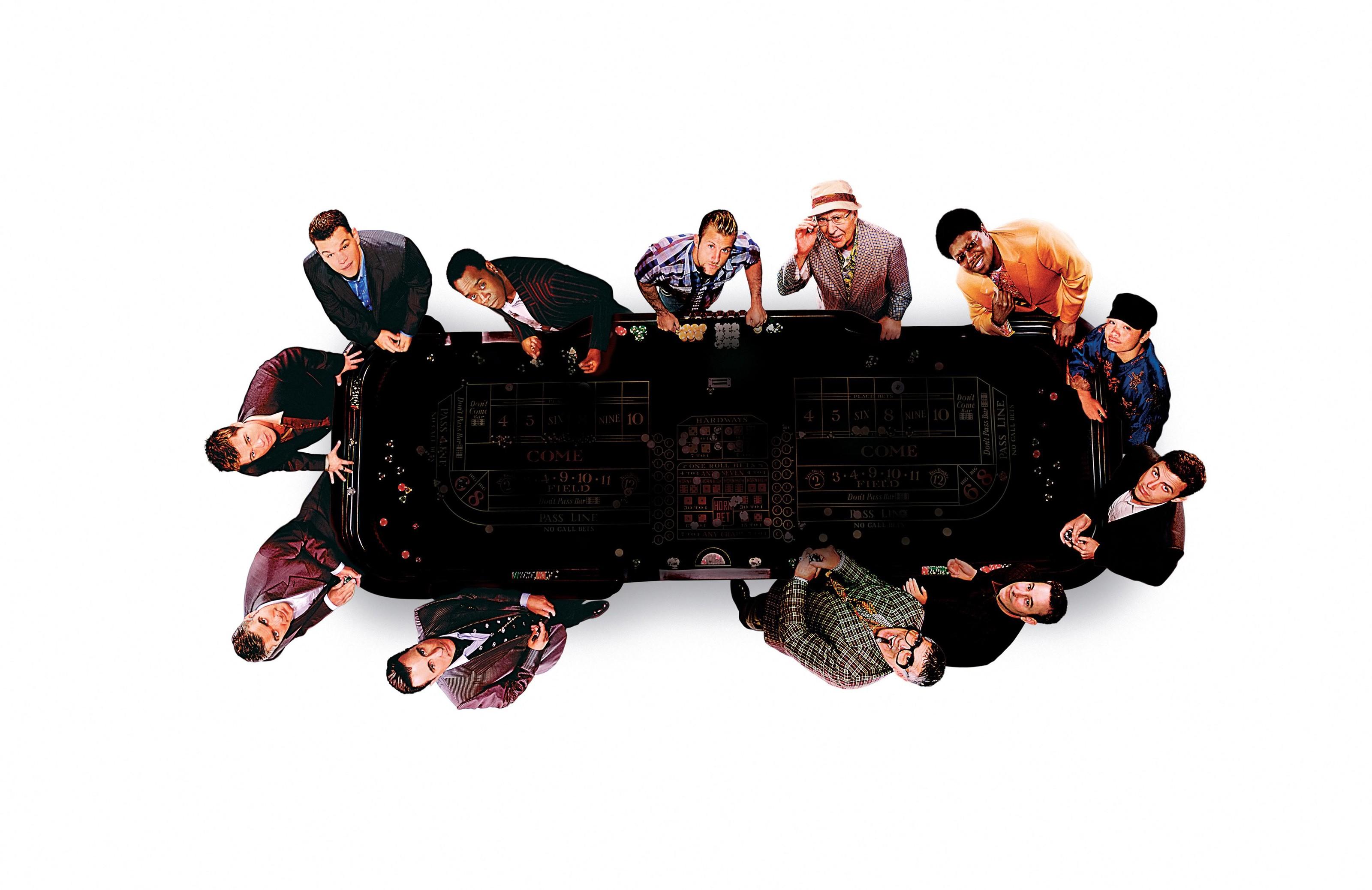 Un wallpaper del film Ocean's Thirteen