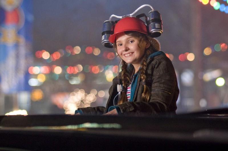 Abigail Breslin in una scena del film Zombieland