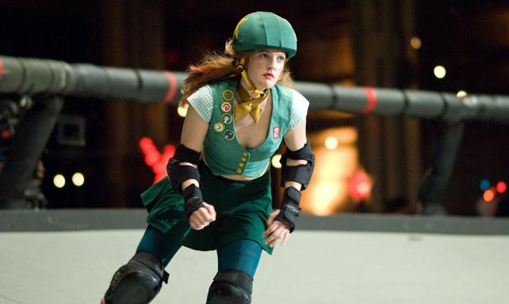 Drew Barrymore in una scena del film Whip It