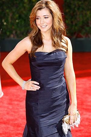 Alyson Hannigan sul tappeto rosso degli Emmy Awards 2009