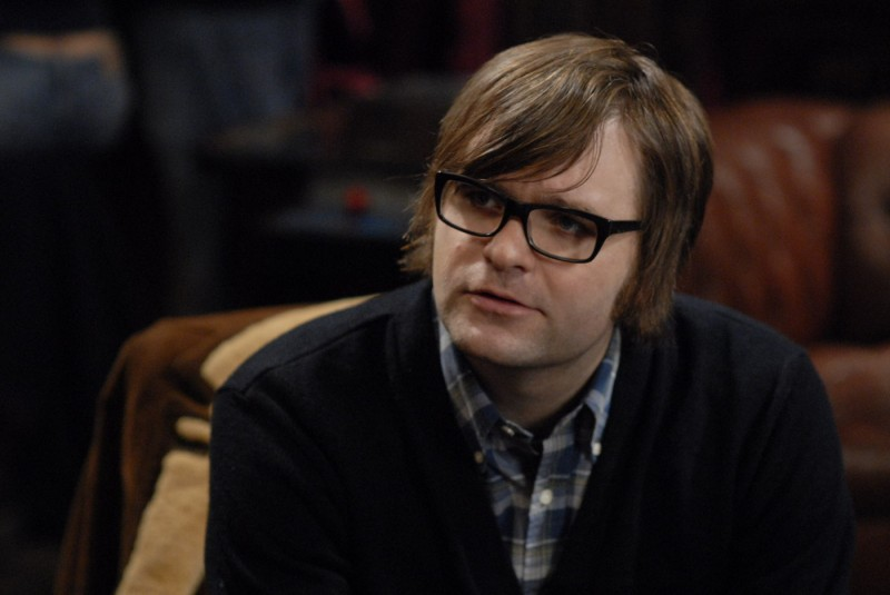 Benjamin Gibbard in una scena del film Brief Interviews with Hideous Men