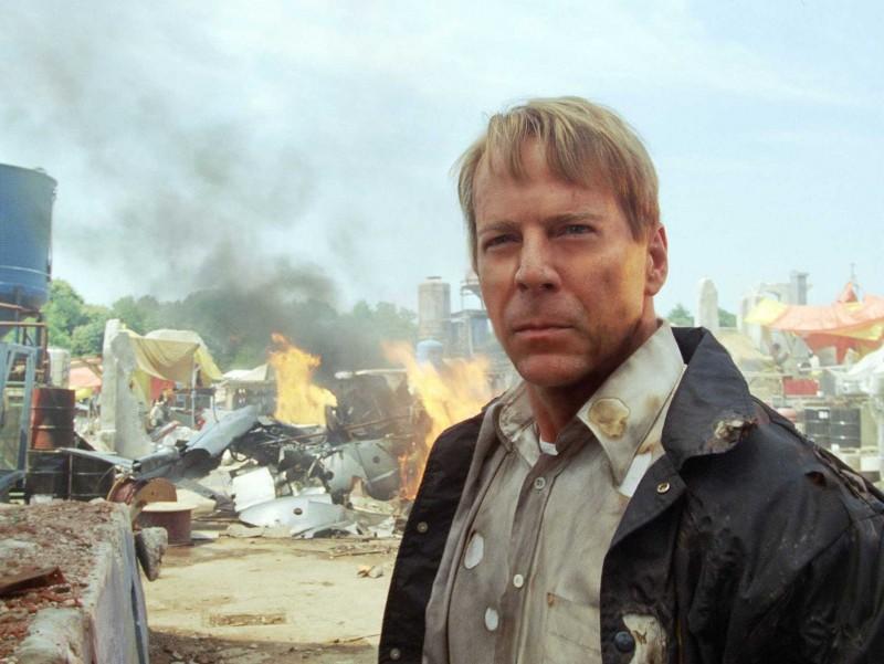 Bruce Willis in un'immagine del film Il mondo dei replicanti