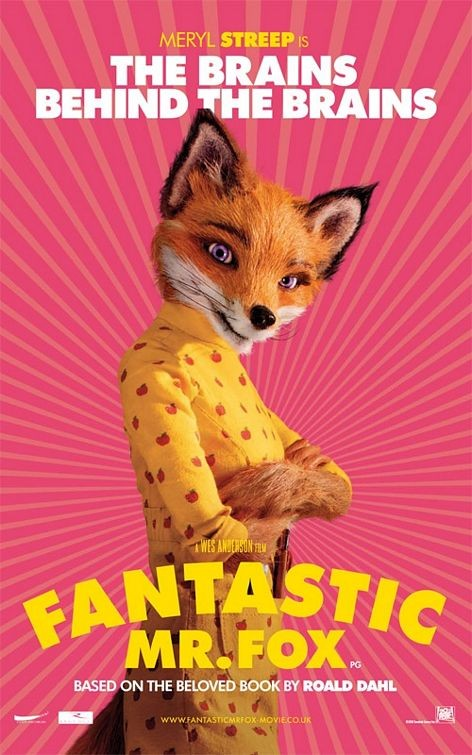 Character Poster (The Brains Behind The Brains) per The Fantastic Mr. Fox