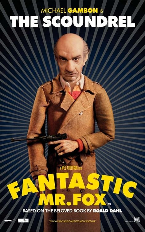 Character Poster (The Scoundrel) per The Fantastic Mr. Fox