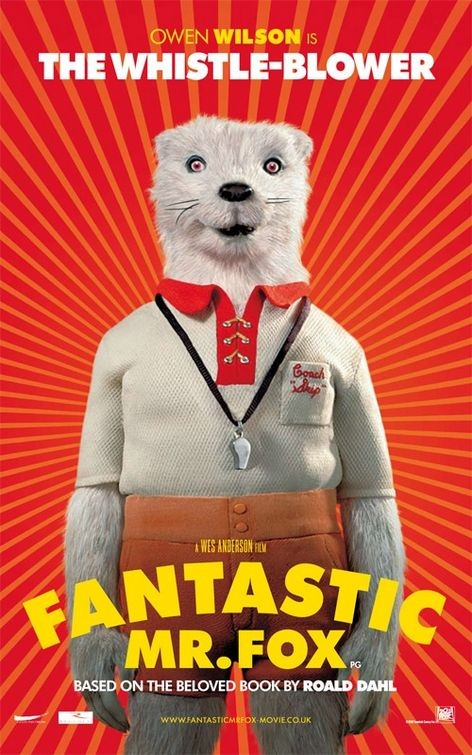 Character Poster (The Whistle-Blower) per The Fantastic Mr. Fox